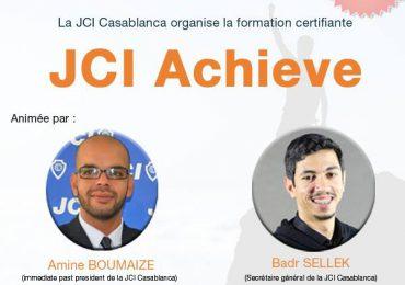 {:fr}Formation Certifiante JCI Achieve{:}{:en}Certified Training JCI Achieve {:}