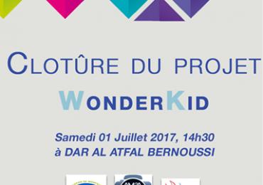 clôture du projet WonderKid