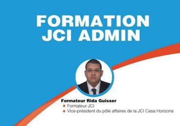 Formation Certifiante JCI Admin