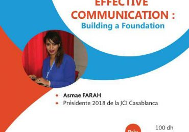Effective Communication: Building a foundation