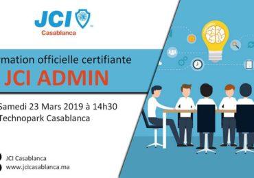 Formation Certifiante: JCI Admin