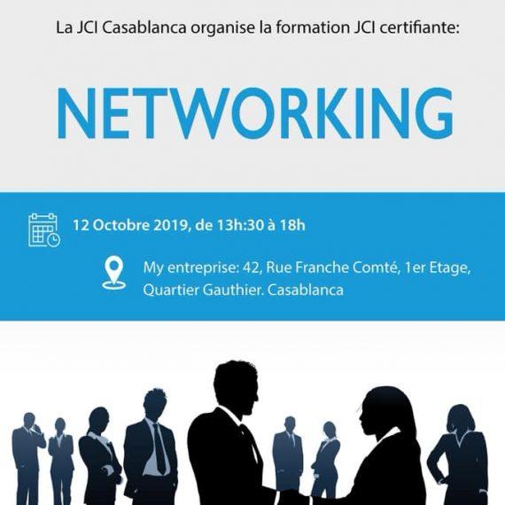 Formation Certifiante JCI Networking.