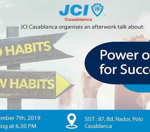 Afterwork : Power of Habits for Success